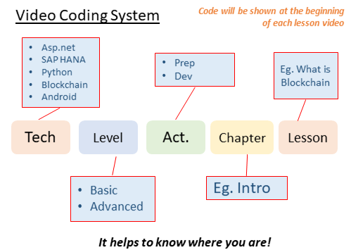 Coding system for Videos